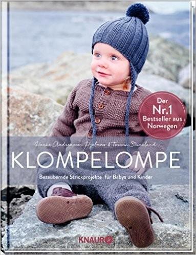KLOMPELOMPE Bezaubernde Strickprojekte für Baby's/Kinder Nr. 1 Bestseller aus Norwegen