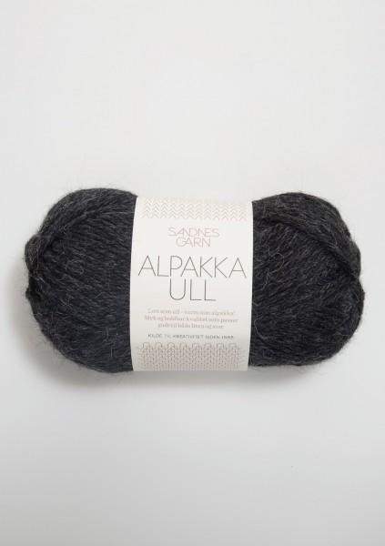 Alpakka Ull Anthrazit