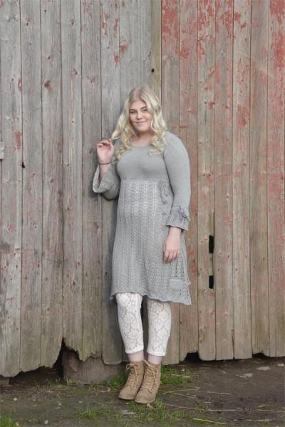 Kleid Great Affection grey Gr. M - L