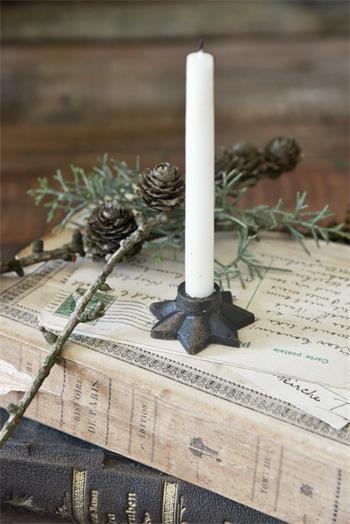 Kerzenhalter Stern klein