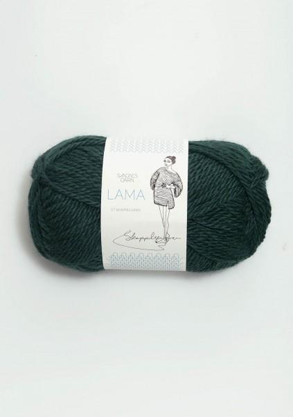 Lama Skappelgarn smaragd
