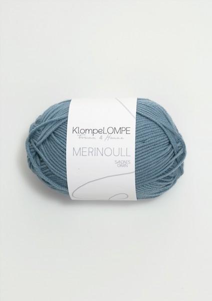 KlompeLOMPE Merinoull Jeansblau
