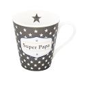 """Happy Mug """"Super Papa"""" mit Henkel"""