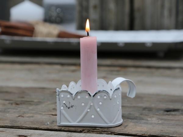 Kerzenleuchter Herz im Vintage Look