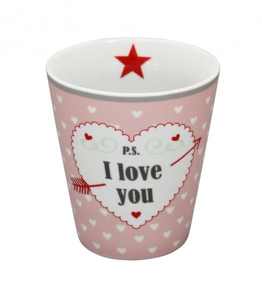 "Happy Mug ""P.S... I Love You"""
