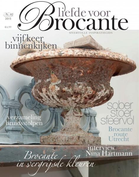 """Magazin """"Liefde voor Brocante"""" 02/2015"""