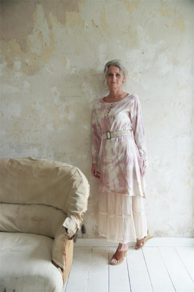 Kleid/Longshirt Charming Mind rose Gr. M