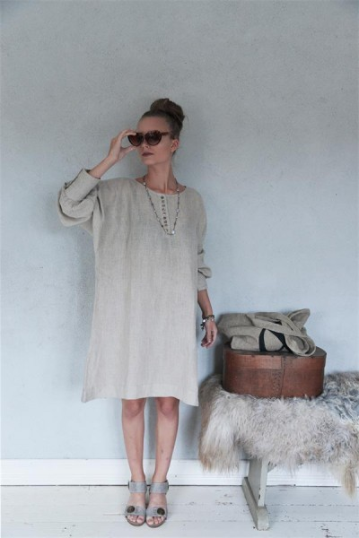 Kleid / Tunika Natural and Cosy Gr.M - L
