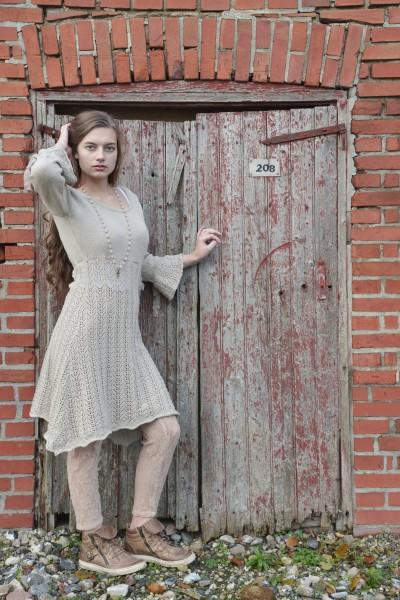 Kleid Great Affection beige Gr. XS - S