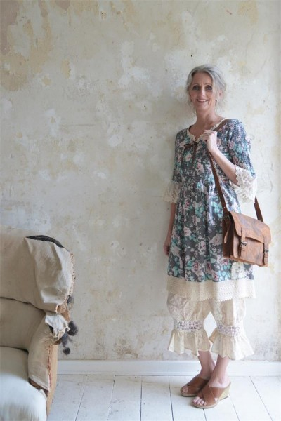 Kleid Blossom Vintage Gr. XXL