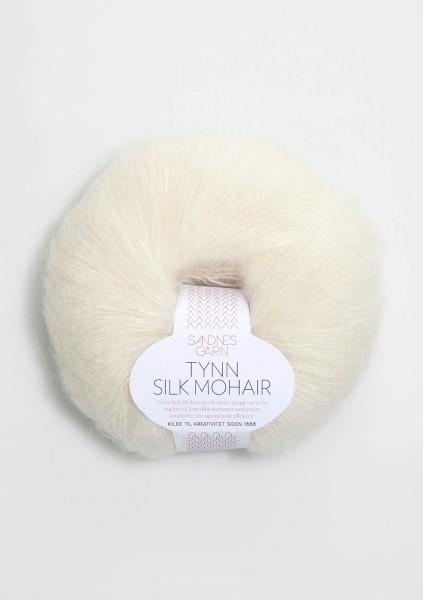 Tynn Silk Mohair Creme