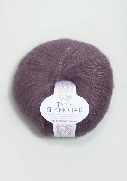 Tynn Silk Mohair Vintage Lila