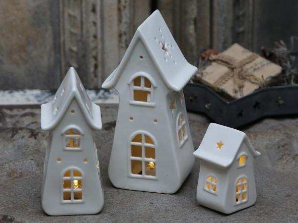 Kerzenhaus aus Keramik (kleine)