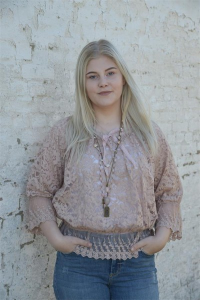 Bluse Purely Romance dusty rose Gr. S