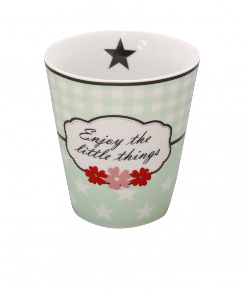 "Happy Mug ""Enjoy the little things"""