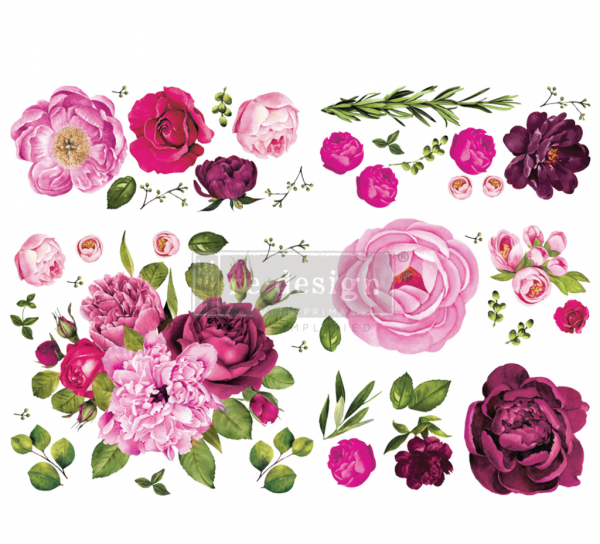 Transferfolie Vintage Lush Floral