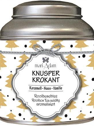 Rooibusch Tee Knusperkrokant Karamell-Nuss-Vanille