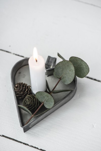 Kerzenhalter Herz für Stabkerzen