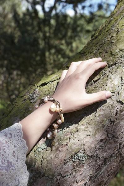 Armband Amazing Life rose