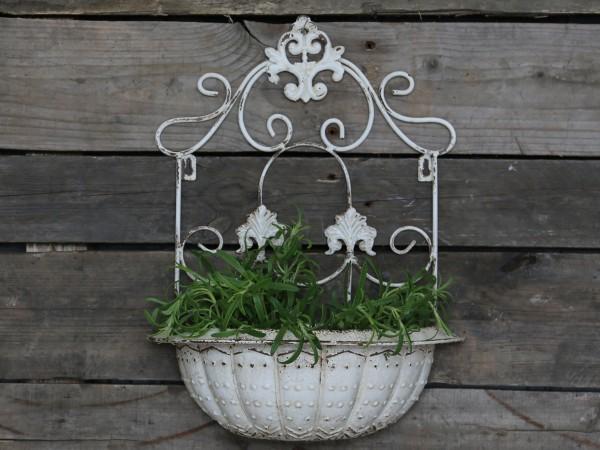 Französisches Pflanzgefäß für die Wand