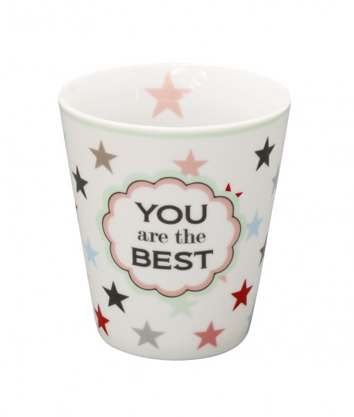 """Happy Mug """"You are the best"""""""