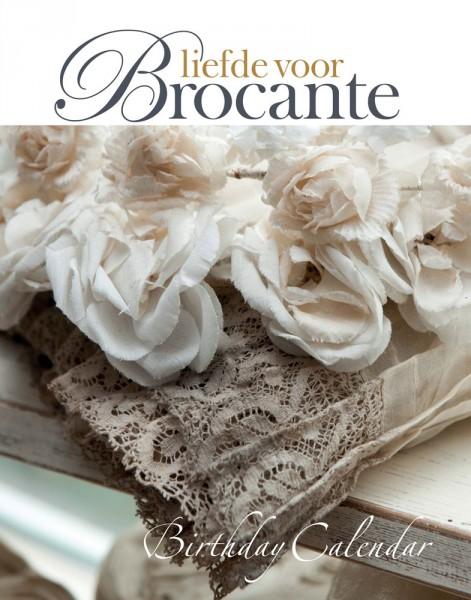 """Geburtstagskalender """"Liefde voor Brocante"""""""