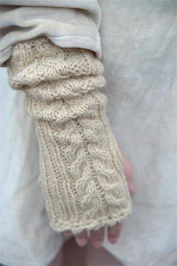 Wrist Warmer - Strickanleitung