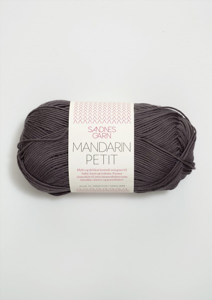 Mandarin Petit Dunkelgrau