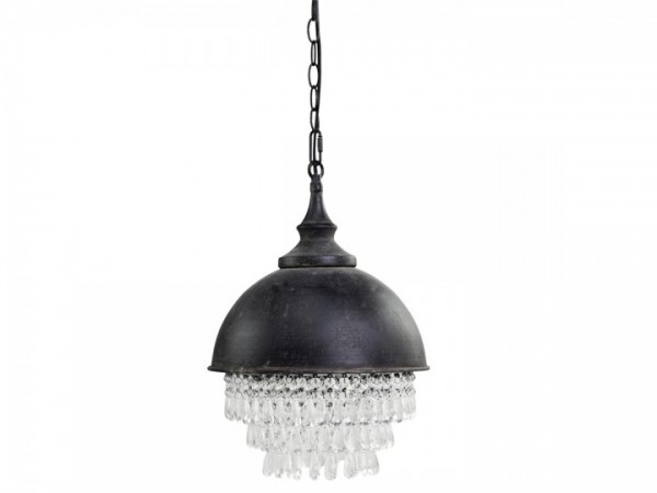 Lampe mit Prismen im Factory Look