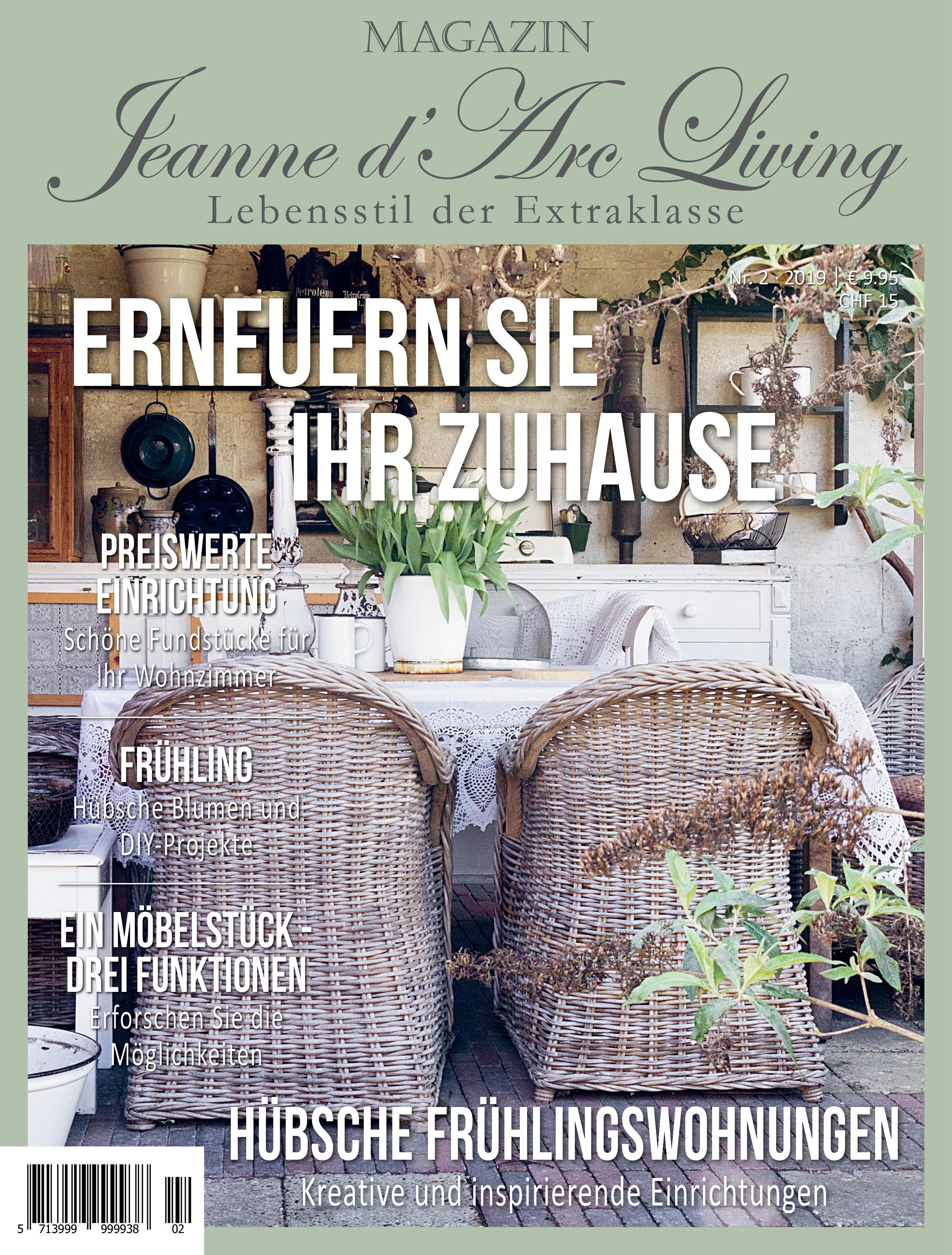 Jdl Bücher Magazine Jeanne Darc Living Lovely Rose