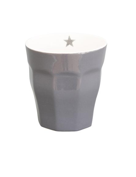 "Brightest Star Latte Mug ""anthrazit"""