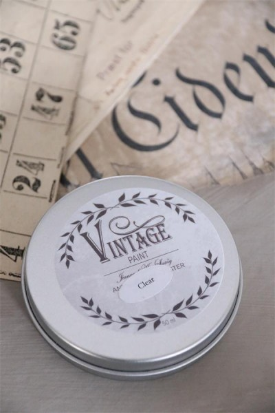 "Vintage Antique Wax ""clear"" 50 ml"