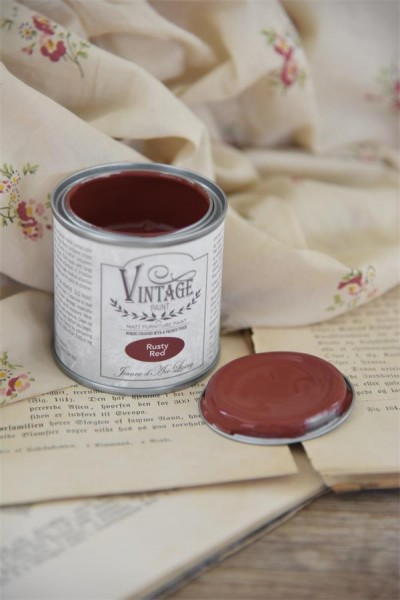 Vintage Paint Rusty Red 100 ml