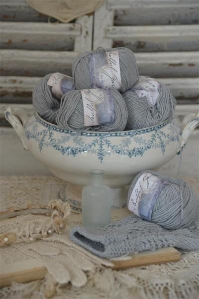Wool Cotton Blend Soft Green