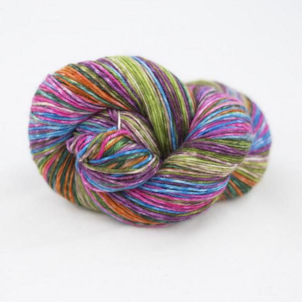 Lazy Lion Sock Yarn Flower Bed