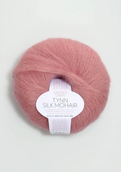 Tynn Silk Mohair Rosa