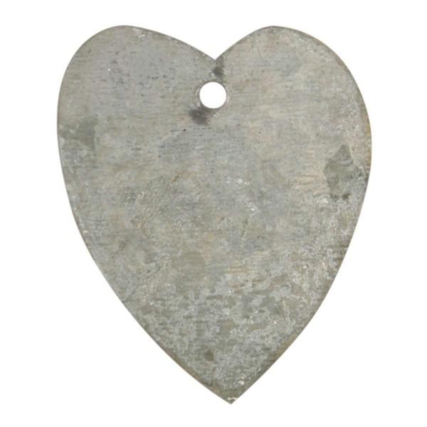 Herz aus Zink