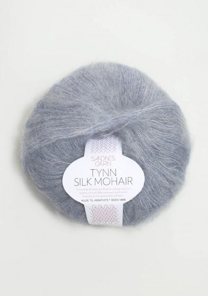 Tynn Silk Mohair Blaumeliert
