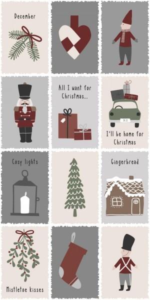 Serviette Nostalgic Christmas (16)