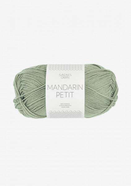 Mandarin Petit Støvet Lys Grønn