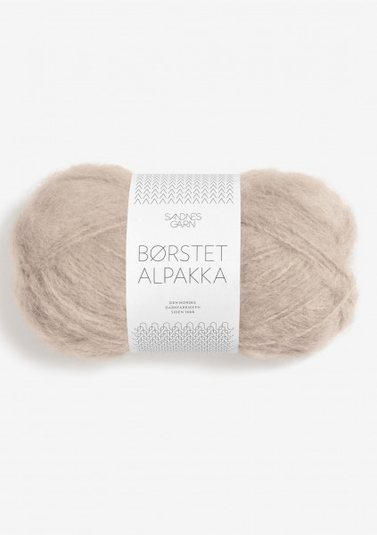 Borstet Alpakka Beige Fb. 3021