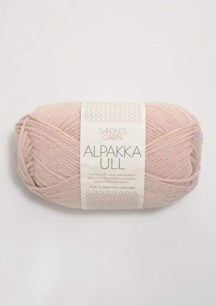 Alpakka Ull Puderrosa
