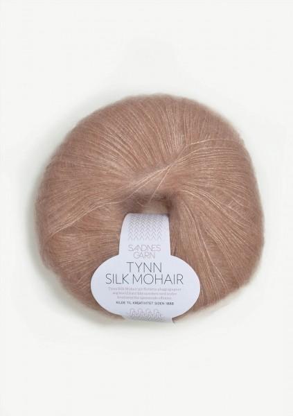 Tynn Silk Mohair Pudderrosa