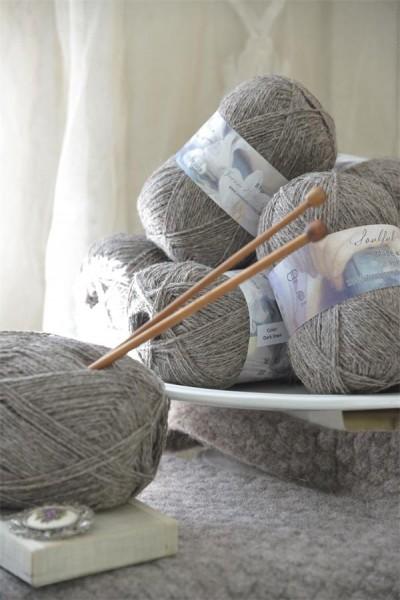 Pure Wool Dark Linen