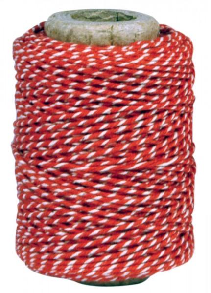 Baumwollgarn rot-weiß