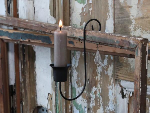 Altfranz. Kerzenhalter mit Prisma