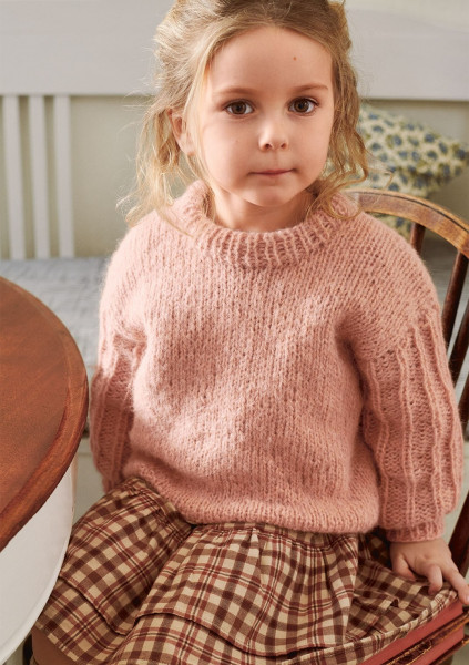 2103 Mykt Til Barn Elsa Pullover