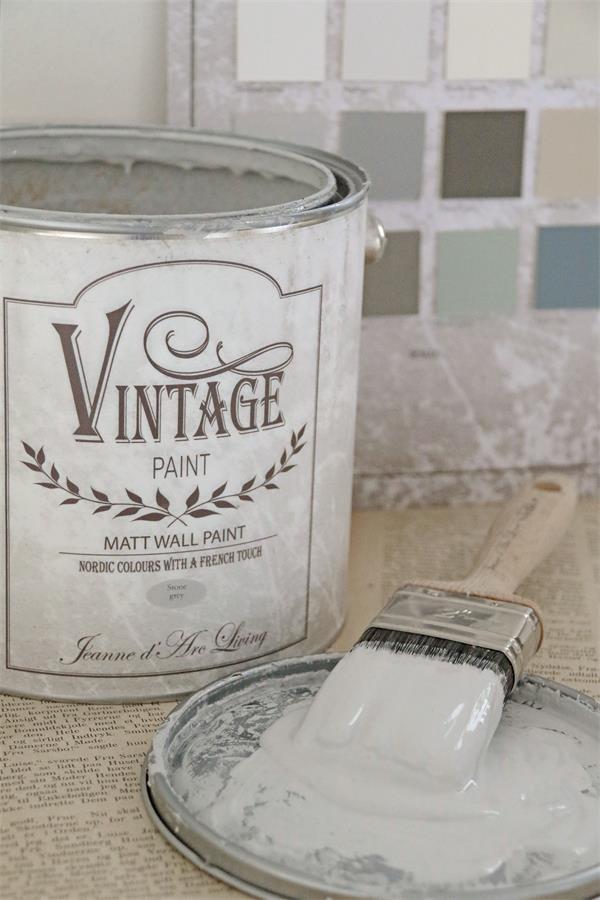 Vintage Paint Kreidefarbe Fur Die Wand Von Jdl Lovely Rose