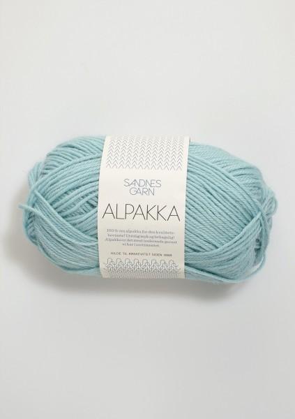 Alpakka Seegrün