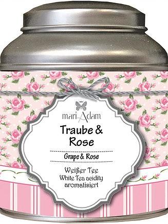 Traube & Rose Weißer Tee